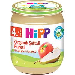 HiPP Organik Şeftali Püresi Kavanoz Maması 125gr
