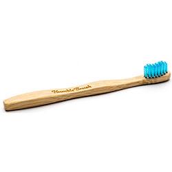 Humble Brush Bambu Diş Fırçası (Çocuk, Çok Yumuşak, Mavi)