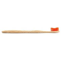 Humble Brush Bambu Diş Fırçası (Yetişkin, Yumuşak, Kırmızı)