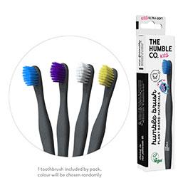 Humble Brush Ekolojik Bitki Bazlı Diş Fırçası  Çocuk  Hassas  Sürpriz Renkli