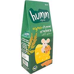 Humm Organik Peynirli Kinoalı Kraker 60gr
