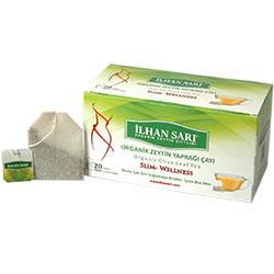 İLHAN SARI Organik Zeytin Yaprağı Çayı  Bardak Poşet  20 Adet