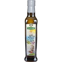 İLHAN SARI 4 SAAT Organik Sızma Zeytinyağı (Bebekler için Erken Hasat, Soğuk Sıkım) 250ml