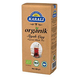 Karali Organik Siyah Çay 500g