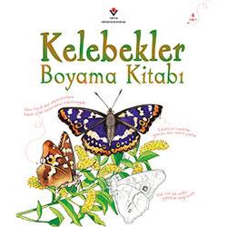 Kelebekler Boyama Kitabı (Yaş 3+) (Tübitak, Megan Cullis)