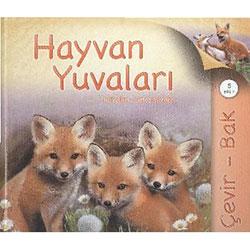 Çevir - Bak: Hayvan Yuvaları (Yaş 5+) (TÜBİTAK, Judy Allen, Simon Mendez)