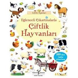 Çiftlik Öyküleri Eğlenceli Çıkartmalarla Çiftlik Hayvanları (İş Bankası Yayınları, Usborne)