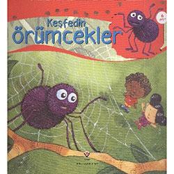 Keşfedin: Örümcekler (Yaş 6+) (TÜBİTAK, Alejandro Algarra)
