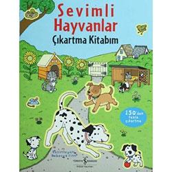 Sevimli Hayvanlar Çıkartma Kitabım (İş Bankası Yayınları, Jessica Greenwell)
