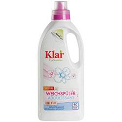 Klar Organic Softener Sensitive  Without Fragrances  1L