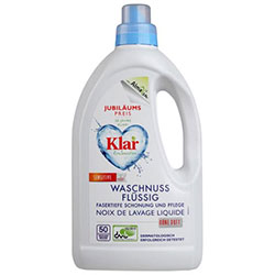 Klar Organic Soap Nut Liquid  Waschnuss  1 5L