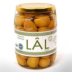 LAL Organik Yeşil Zeytin (Domat Premium) 450gr