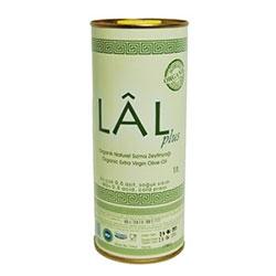 LAL Organik Naturel Sızma Zeytinyağı (Soğuk Sıkım 0,8 asit) 1L