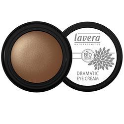 Lavera Organik Krem Göz Farı (Dramatic Eye Cream, 01 Gleaming Gold)