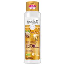 Lavera Organik Şampuan ve Saç Kremi (Çok Kuru ve Yıpranmış Saçlara Yoğun Bakım) 250ml
