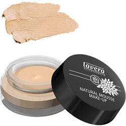 Lavera Organik Natural Mousse Make-up Fondöten (Ivory 02)