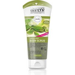 Lavera Organik Organik Sıkılaştırıcı Duş Peelingi (Yeşil Kahve Çekirdeği, Yeşil Çay) 200ml