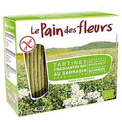 Le Pain des Fleurs Organik Karabuğdaylı Atıştırmalık Kraker (Glutensiz Çıtır Ekmek) (30 adet) 125gr