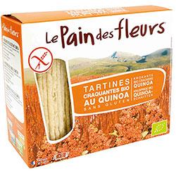 Le Pain des Fleurs Organik Kinoalı Atıştırmalık Kraker (Glutensiz Çıtır Ekmek) (30 adet) 125gr