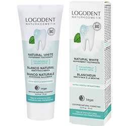 Logodent Organic Natural White Toothpaste 75ml