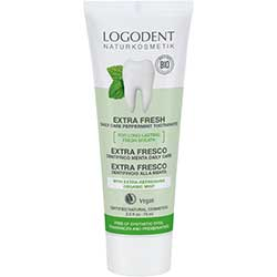 Logodent Organic Toothpaste  Daily Care Peppermint  75ml