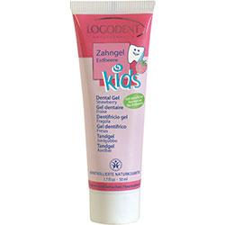 Logodent Organik Çocuk Diş Macunu (Çilek Özlü) 50ml