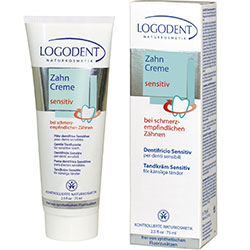 Logodent Organic Toothpaste  For Sensitive Chamomile  75ml