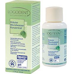 Logodent Organik Bitki Özlü Konsantre Ağız Çalkalama Suyu 50ml
