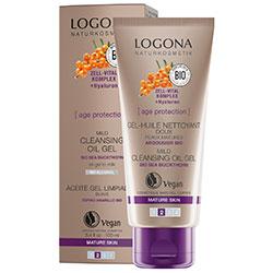 Logona Organic Age Protection Mild Cleansing Oil Gel 100ml