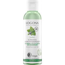 LOGONA Organik Arındırıcı Yüz Toniği  Nane ve Salisilik Asit  125ml