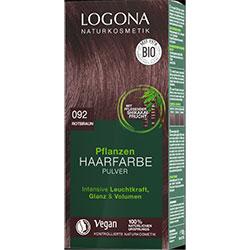 Logona Organik Bitkisel Toz Saç Boyası (092 Kızıl Kahve)