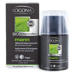 Logona Organic Mann Smoothing Hydro Cream Q10 50ml