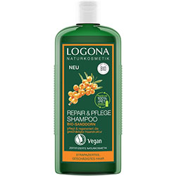 Logona Organic Repair & Care Shampoo  Sea Buckthorn  250ml
