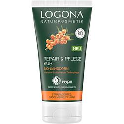LOGONA Organik Onarıcı Saç Bakım Maskesi (Yabani İğde Özlü) 150ml