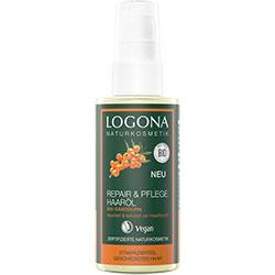 LOGONA Organik Onarıcı Saç Bakım Yağı  Yabani İğde Özlü  75ml