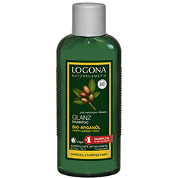 Logona Organic Shampoo  Shine  Argan Oil  75ml