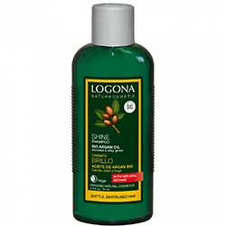 Logona Organic Shampoo  Shine / Argan Oil  250ml