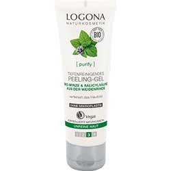 Logona Oranic Deep Cleansing Exfoliation Gel  Mint & Salicylic Acid  100ml