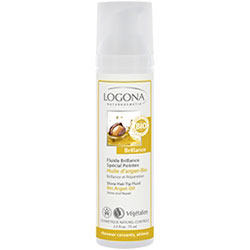 Logona Organic Hair Tip Fluid  Shine  Argan Oil  75ml