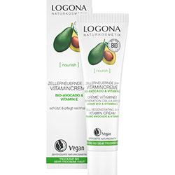 Logona Organik 24 Saat Etkili Hücre Yenileyici Vitamin Kremi (Avokado & Vitamin E) 30ml