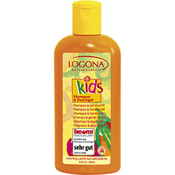 Logona Organik Çocuk Bakım Şampuanı ve Duş Jeli 200ml