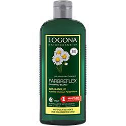 Logona Organik Şampuan (Boyalı Sarı Saçlar için Papatya Özlü) 250ml