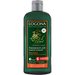 Logona Organik Şampuan (Boyalı Kırmızı-Kahve Renkli Saçlar için Kına Özlü) 250ml