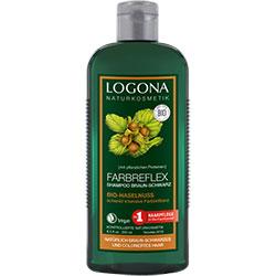 Logona Organik Şampuan (Boyalı Kahve-Siyah Saçlar için Fındık Özlü Bakım) 250ml