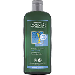 Logona Organic Shampoo  Sensitive  Acacia  250ml