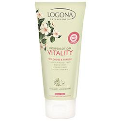Logona Organik Vitaly Yabangülü & Üzüm İçerikli Vücut Losyonu 200ml