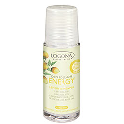 Logona Organic Energy Deo Roll-on  Lemon & Ginger  200ml
