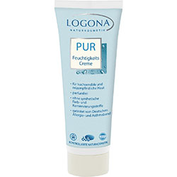 Logona Organic Pure Fragrance-Free Moisturising Cream  Sensitive & Irritable Skin  50ml