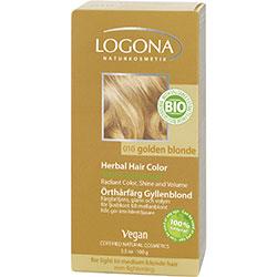 Logona Organik Bitkisel Toz Saç Boyası (Altın Sarısı)