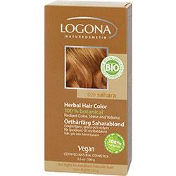 Logona Organik Bitkisel Toz Saç Boyası (Sahara)